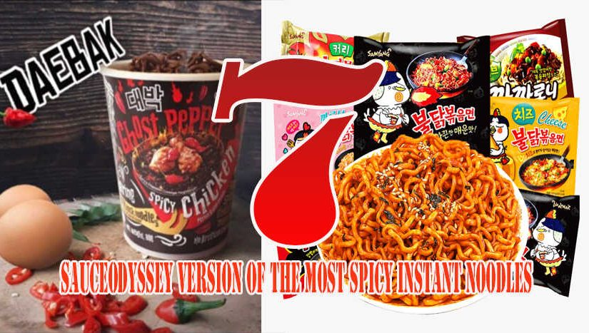 SauceOdyssey Version of the Most Spicy Instant Noodles